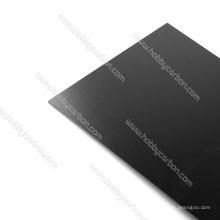 Hoja de fibra de carbono G10 fibra de vidrio 400x500x1.5mm