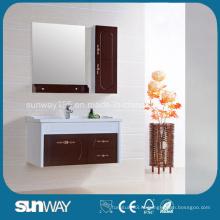 2014 Картина Деревянная мебель для ванной комнаты с хорошим качеством
