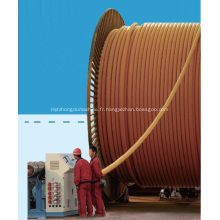 Pipeline composite en plastique tressé d'acier