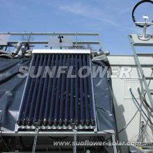 Colector solar de montaje en pared