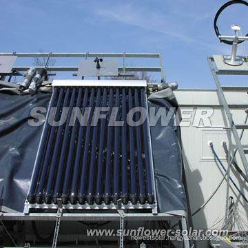 Solar collector vacuum tubes