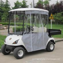 Chariot de golf de pare-brise d'utilité électrique de Marshell avec la boîte arrière (DU-G2)