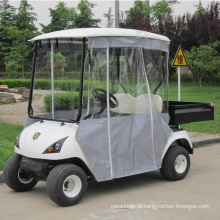 Carrinho de golfe do pára-brisa da utilidade de Marshell com caixa traseira (DU-G2)