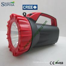 CREE LED rotierende Marine Suche Licht / wiederaufladbare Hand halten wasserdichte LED Taschenlampe
