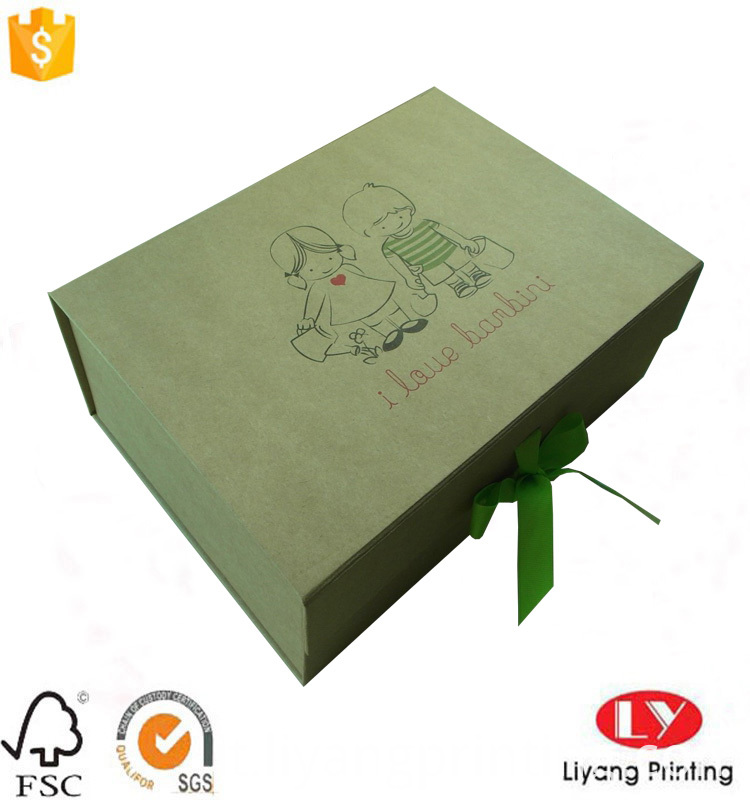 flat foldable box
