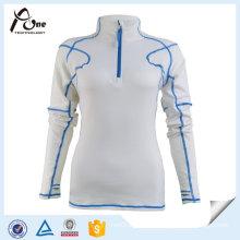 Women Design Sportswear Long Sleeve Gym Training Shirt