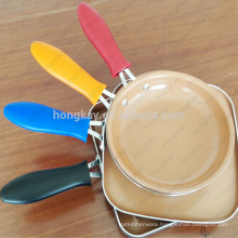 Large Silicone Hot Handle Holder for iron pan and pot