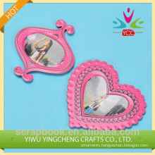 Mini bulk digital photo frame/lovely pink photo frame