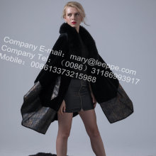 Australia Lady Merino Shearling Cape Coat
