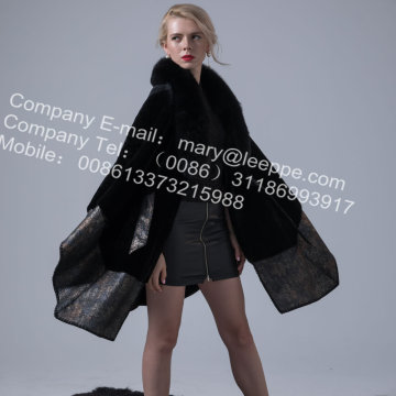 Australien Lady Merino Shearling Cape Coat