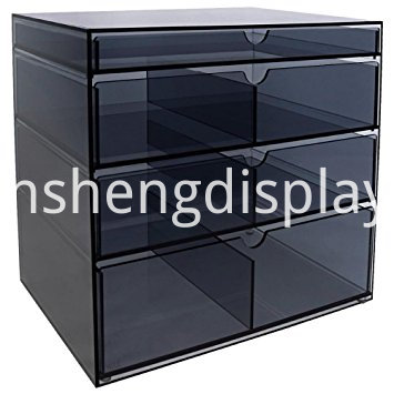 Clear Acrylic File Cabinet