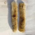 Fabrik Preis Top Qualität Natürliche Farbe Echt Coyote Pelzkragen Für Mantel