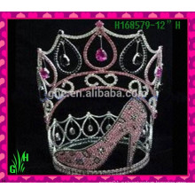 Оптовые новые Rhinestone Shoes Crown Tiara
