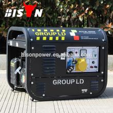 2kva 2kw 6.5HP 220 Volts Chinês Feito Marca Generador Preço Mini Pequeno Ímã Alternador Energia Elétrica 8500W Gerador de gasolina