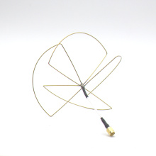 1.2G 1.3 ghz FPV Skew planar Antena Wheel 3 Bladed Antena de 4 palas para Rx Tx