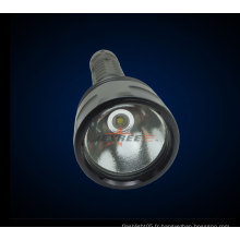 Vente en usine H3 Tactical lampe professionnelle militaire 1 * cree 800 lumens Rechargeable