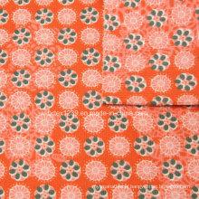 Tissu en velours côtelé 21Wales en 100% coton pour vêtement imprimé