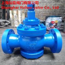 Vanne de réduction de pression de vapeur à piston pilote Y43h/Y