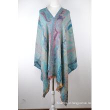 Lenço Jacquard de seda e lã (12-BR010207-3.1)