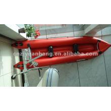 0,9 PVC-aufblasbare Angeln Kajak 390