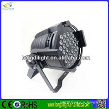 high quality &best price led par 64 dj lighting 36*3w RGB