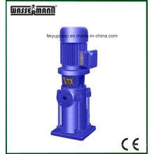 Электрический центробежный насос моноблочной трубопровода