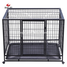 cage double chien, cage double chien, chenil double