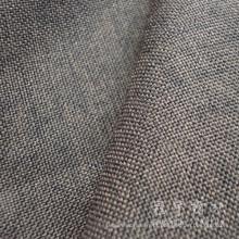 Tela de linho do poliéster Oxford linho tela decorativa