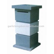 Kalkstein-Briefkasten