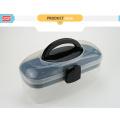 shunxing mini caixa de armazenamento de plástico portátil com alça