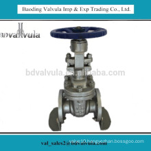 flanged stainless steel 316 gate valve pn16