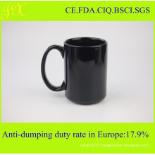 Eco-Friendly Color Glazed Ceramic Mug for Coffee