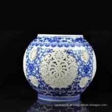 Molduras de abajur de cerâmica, abajur de porcelana para lâmpada de mesa