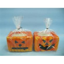 Artisanat en céramique en forme de bougie de Halloween (LOE2367-9z)