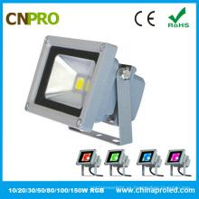 Luz de inundación de 10W RGB LED con el Ce RoHS