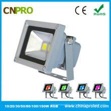 10W RGB LED Flood Light com Ce RoHS