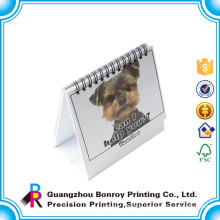 New design promotional mini desk pad calendar