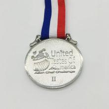 Medalhas de maratona personalizadas de alta qualidade