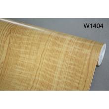 Embossed PVC Wood Grain Heat Shrink Film PVC Kitchen Cabinet Door Film