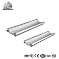 6061 T6 Brushed Square aluminum awning rope rail track