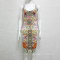 Новый летний моды секси стройная пакет хип платье платье платье
