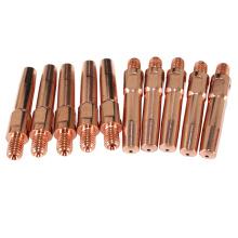 ponta de contato do conector de cabo da tocha de soldadura do cobre do euro do mig