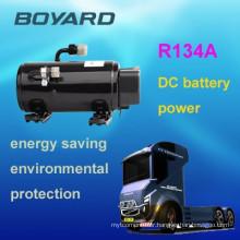 Auto ac compressor 12/24/48v dc compressor for electric vehicle motorhome air condition