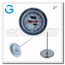 High quality stainless steel best meat thermometer for grilling