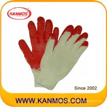 Industriesicherheit Baumwollstrick Latexbeschichtete Handarbeitshandschuh (52101)