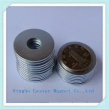 N40 Zinc Plating NdFeB Rare Earth Magnet