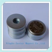 Неодимовый магнит Редкоземельные постоянные неодимовые (N48)