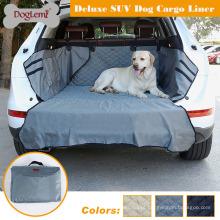 Tampa de Seat luxuosa do animal de estimação do forro da carga do cão de Whaterproof SUV para o caminhão de SUV