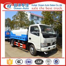 DFAC 4X2 mini tanques de agua precios / camión cisterna de agua para la venta