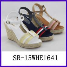 Sommer Sandale europäischen Schuh Marken Frau feminine Schuhe Frau Frauen Schuh